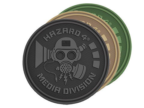 Hazard 4 Media Division™ TPR Rubber Patch