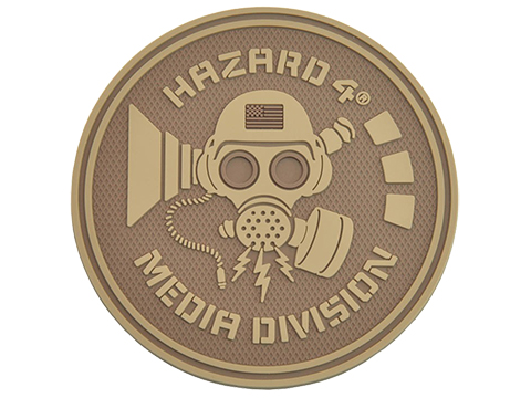 Hazard 4 Media Division� TPR Rubber Patch (Color: Coyote)