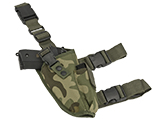 Matrix Deluxe Tactical Thigh Holster (Color: Woodland / Right)