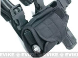 (FREEDOM DEALS!) Matrix Tornado Universal Tactical Thigh / Drop Leg Holster (Color: Black / Left)
