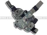 Special Force Quick Draw Tactical Thigh Holster w/ Drop Leg Panel (ACU/ Left Leg)
