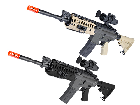 JG M4 Tactical-System V.II Full Size Airsoft AEG Rifle (Color: Black)