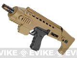 APS Carbine Conversion Kit for TM G17 Series Airsoft GBB Pistols - Tan