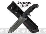 M-Tech Marines Elite Tactical 11.5 Fixed Blade Knife (Color: Titanium Grey)