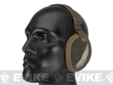 Matrix Tactical  Wire Mesh Ear Protector (Color: Tan)