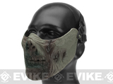 6mmProShop Zombie Iron Face Lower Half Mask - Zombie II
