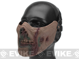 6mmProShop Zombie Iron Face Lower Half Mask (Color: Undead)