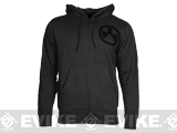 Magpul� Sweatshirt, Full Zip Hoodie - Charcoal Heather / Medium