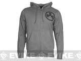 Magpul� Sweatshirt, Full Zip Hoodie - Gunmetal Heather (Size: XX-Large)