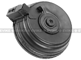 Matrix Gen. II Steel 3000rd Electric Auto-Winding Drum Magazine for AK Series Airsoft AEG