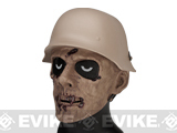 Zombie Vampire Airsoft Face Mask - Brown