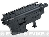 Madbull Licensed Full Metal Noveske Rifleworks Ver. 2 Receiver for M4/M16 Airsoft AEGs - Black