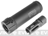 "Surefire Licensed Airsoft QD Mock Suppressor 5"" Barrel Extension by Madbull"