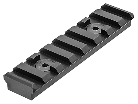 UTG PRO M-LOK™ 8-Slot Picatinny Rail Section (Color: Black)