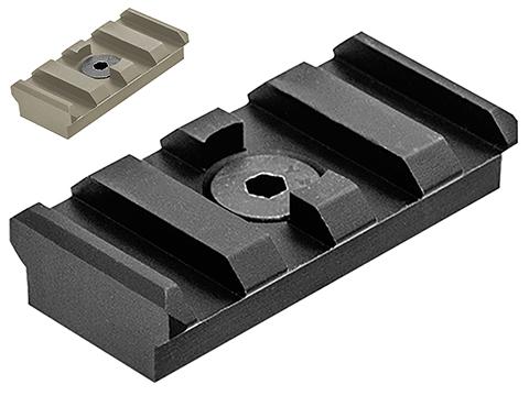 UTG PRO M-LOK� 4-Slot Picatinny Rail Section (Color: Black)