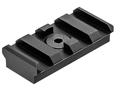 UTG PRO M-LOK™ 4-Slot Picatinny Rail Section (Color: Black)