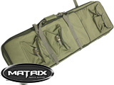 Matrix Tactical Padded Dual Rifle Bag with Extension (Color: Tan / 38)