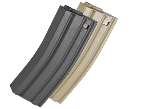 Elite Force 140rd Midcap Magazine for M4 / M16 Series Airsoft AEG Rifles (Color: Black / One)