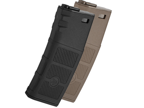G&P Evike High RPS 130rd Polymer Mid-CAP Magazine for M4 M16 Airsoft AEG Rifles (Color: Black / Single Magazine)