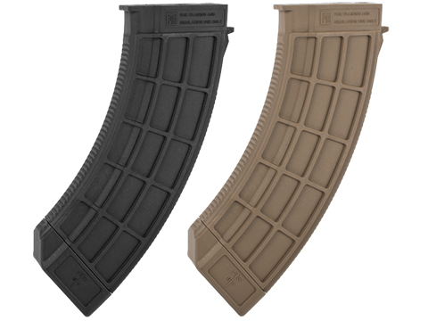 US Palm Licensed 150rd Magazine for AK Series Airsoft AEG Rifles (Color: Black)