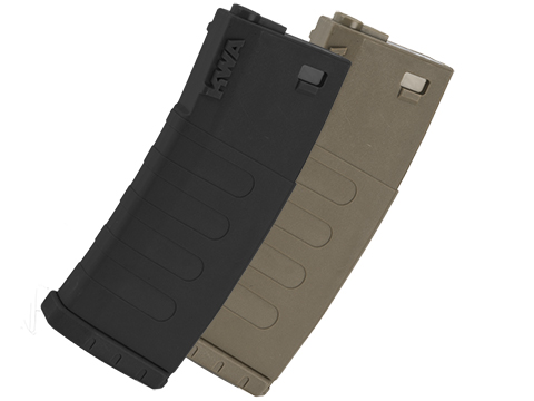 KWA K120 120rd Polymer Midcap Magazine for M4 / M16 Series Airsoft AEG Rifles