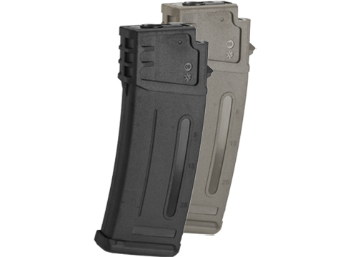 Matrix 300rd Flash Mag Slim Hi-Cap Magazine for G36 Series Airsoft AEG Rifles (Color: Black)
