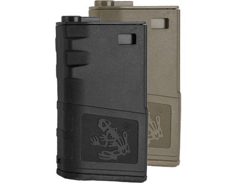 G&P 140rd Short Skull Frog Hi-Cap Magazine for M4 / M16 Series Airsoft AEG Rifles (Color: Black)