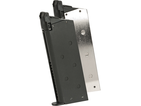 Matrix 18 Round Magazine for Marui-Spec Detonics .45 Gas Blowback Airsoft Pistols (Color: Black)