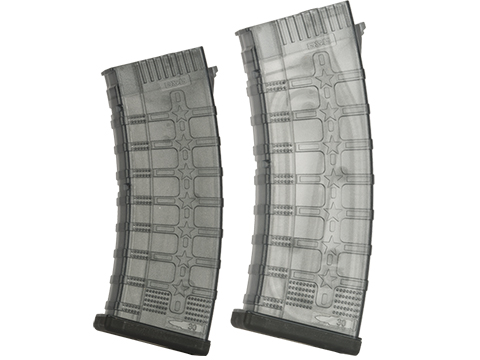 G&G RK74 CQB 115 Round Mid-Cap Magazine for RK and AK Series Airsoft AEGs (Color: Translucent)