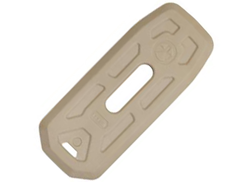 Magpul Floor Plate for AR/M4 Gen M3™ Pmag®  (Color: Sand / Pack of 5)