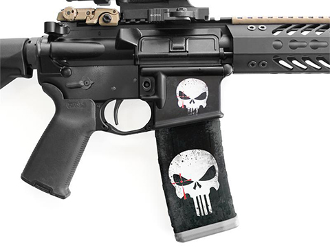 USA Punisher Mag Wraps® Chris Kyle Punisher Series (Color: Black)