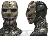 "Evike.com R-Custom Fiberglass Wire Mesh ""Sharkface"" Mask Inspired by Brink"