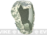 "Matrix Iron Face Carbon Steel ""Striker"" Gen4 Metal Mesh Full Face Mask - ACU"