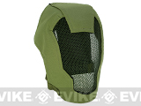 "Matrix Iron Face Carbon Steel ""Striker"" Gen4 Metal Mesh Full Face Mask - OD Green"