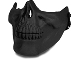 Avengers Skull Iron Face Lower Half Mask (Black)