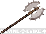 Hero's Edge Foam Double Sided Spiked Battle Axe