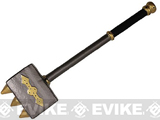 Hero's Edge Spiked War Hammer Foam Weapon