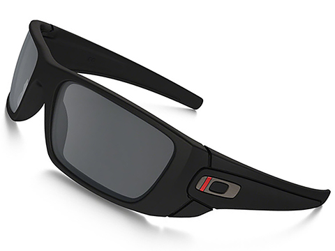 Oakley SI Fuel Cell - Thin Red Line Black w/ Black Iridium Lenses