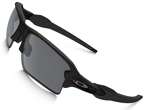 Oakley Flak Jacket 2.0 XL with Black Iridium Lenses - Thin Red Line