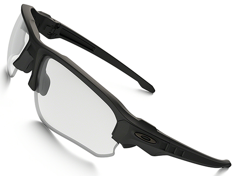 Oakley SI Speed Jacket Matte Black w/ Clear and Grey Lens Array