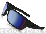 Oakley SI Turbine Sunglasses (Color: Matte Black / Deep Water Polarized Lenses)
