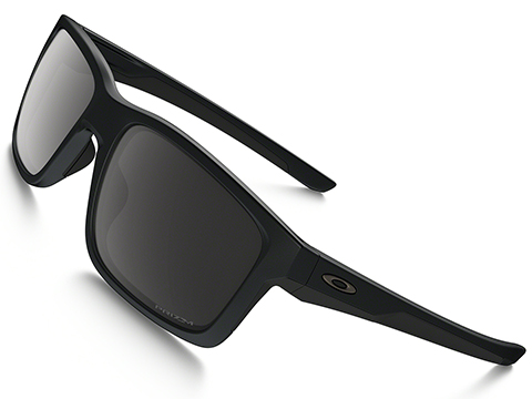 Oakley Mainlink Sunglasses - Matte Black with Black PRIZM Lenses