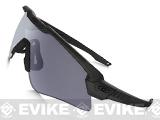 Oakley SI Ballistic M Frame Alpha Shooting Glasses (Color: Matte Black / Smoke Grey)
