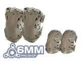 6mmProShop Tactical Knee & Elbow Pad Set (Color: Camo)