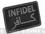 Hazard 4 Infidel Rubber  Patch - Black