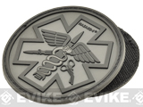 Hazard 4 PVC Paramedic Patch (Color: Black)