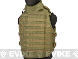 Phantom Interceptor Modular OTV Body Armor / Vest - Medium (Coyote Tan)