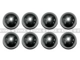 Steel 4mm Ball Bearing Set for MadBull / Pro-Arms / CAW / Matrix CO2 40mm Grenade Series - (Set of 8)
