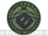 Official Licensed Evike.com Elite B.A.M.F. PVC Velcro Patch - Type A