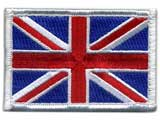 Matrix Country Flag Series Embroidered Morale Patch (Country: United Kingdom)